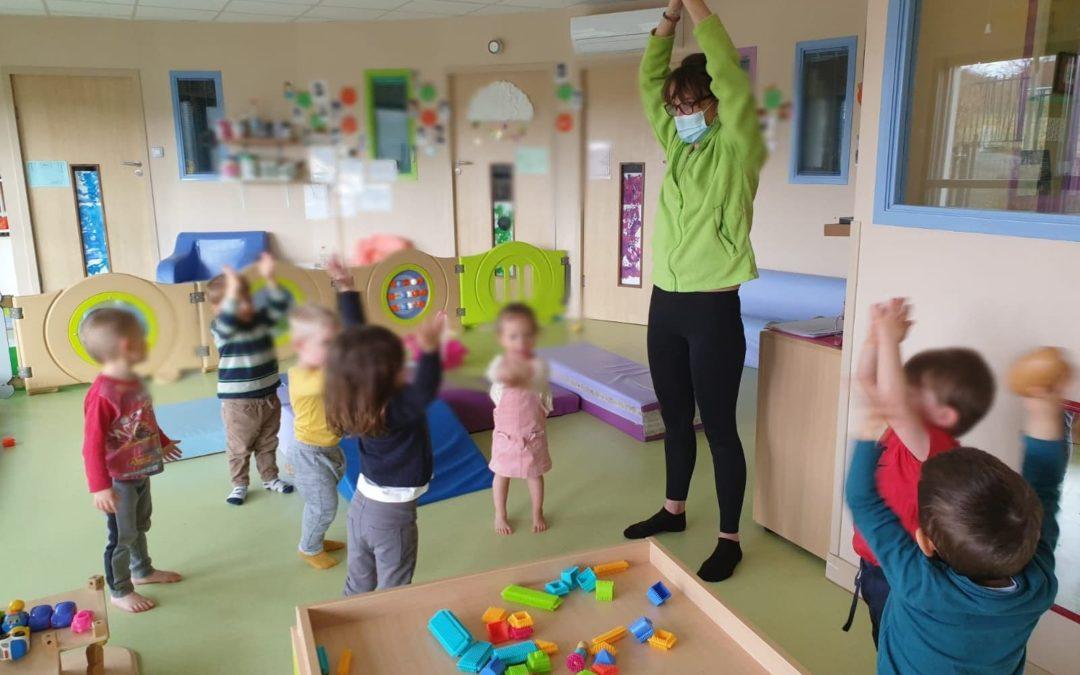 Prévention des troubles musculo-squelettiques en petite enfance (TMS)